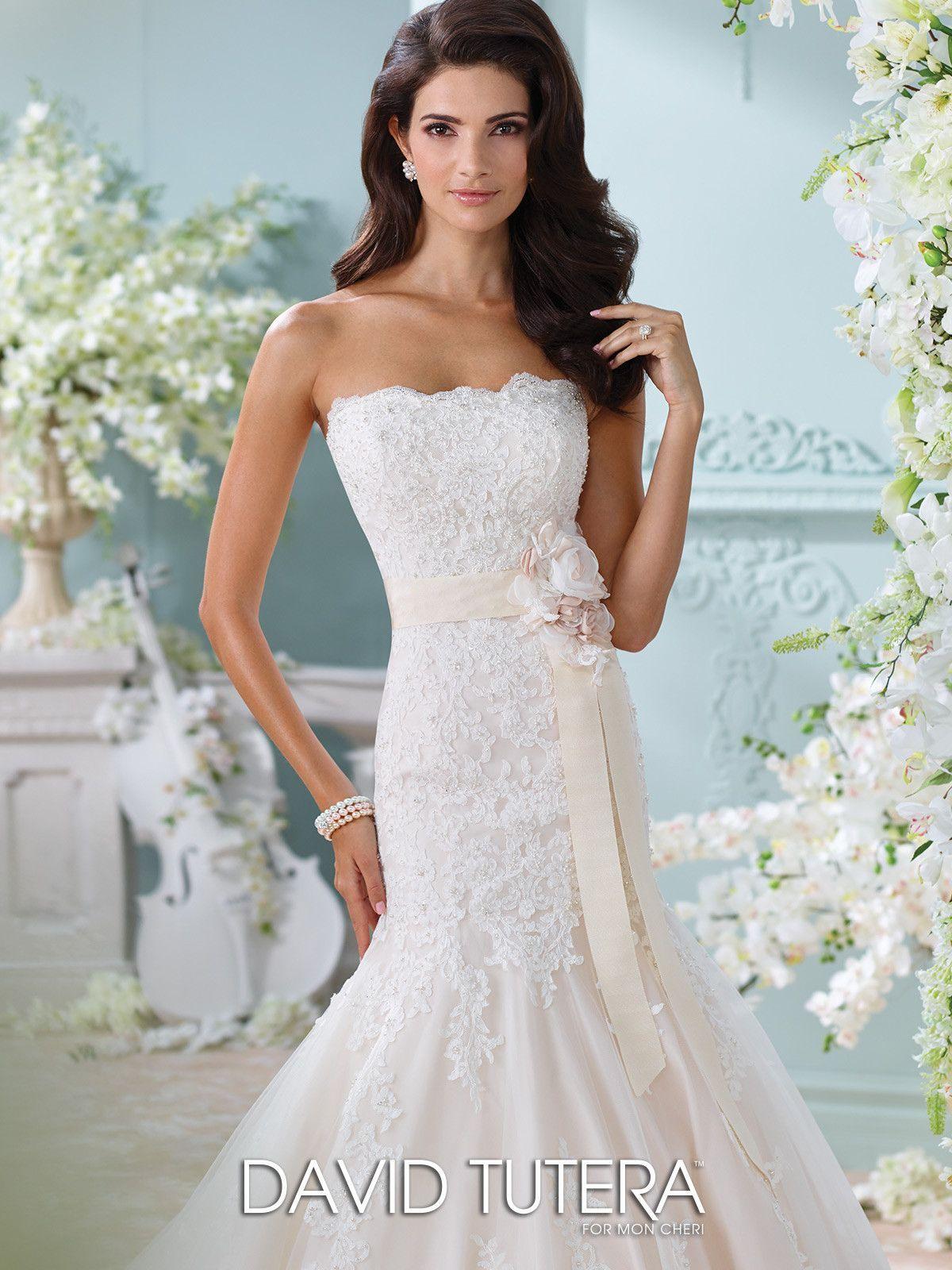 69ec650006ee6 Last Dress In Stock; Size: 12, Color: Ivory/Petal - Martin Thornburg ...