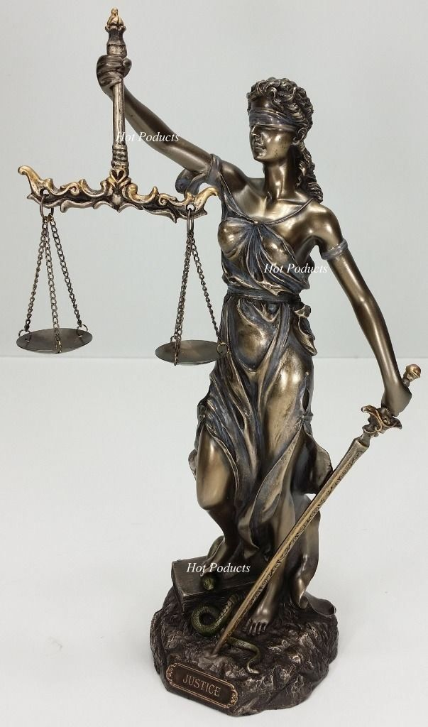 Blind Lady Justice Scales Lawyer Firm Attorney Statue Office Desk Barrister Gift Lady Justice Justice Scale Justice Statue