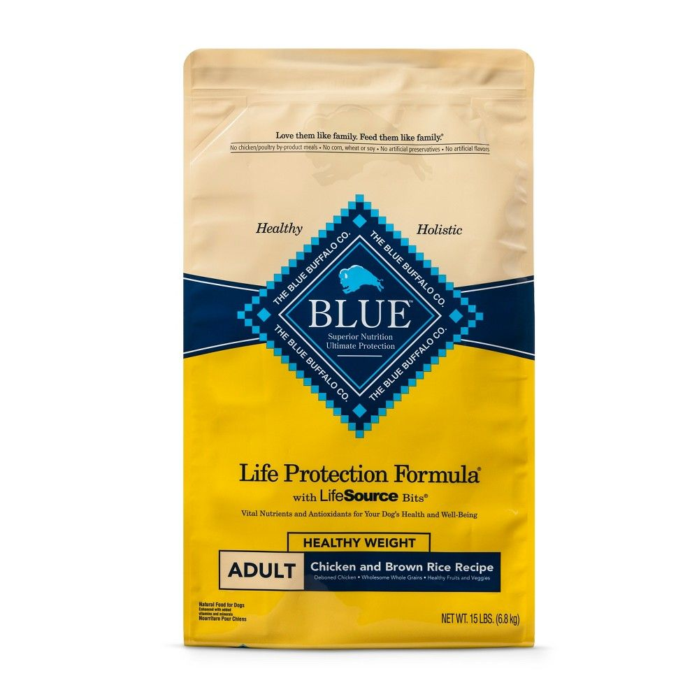 Blue Buffalo Adult Healthy Weight Chicken Brown Rice Dry Dog