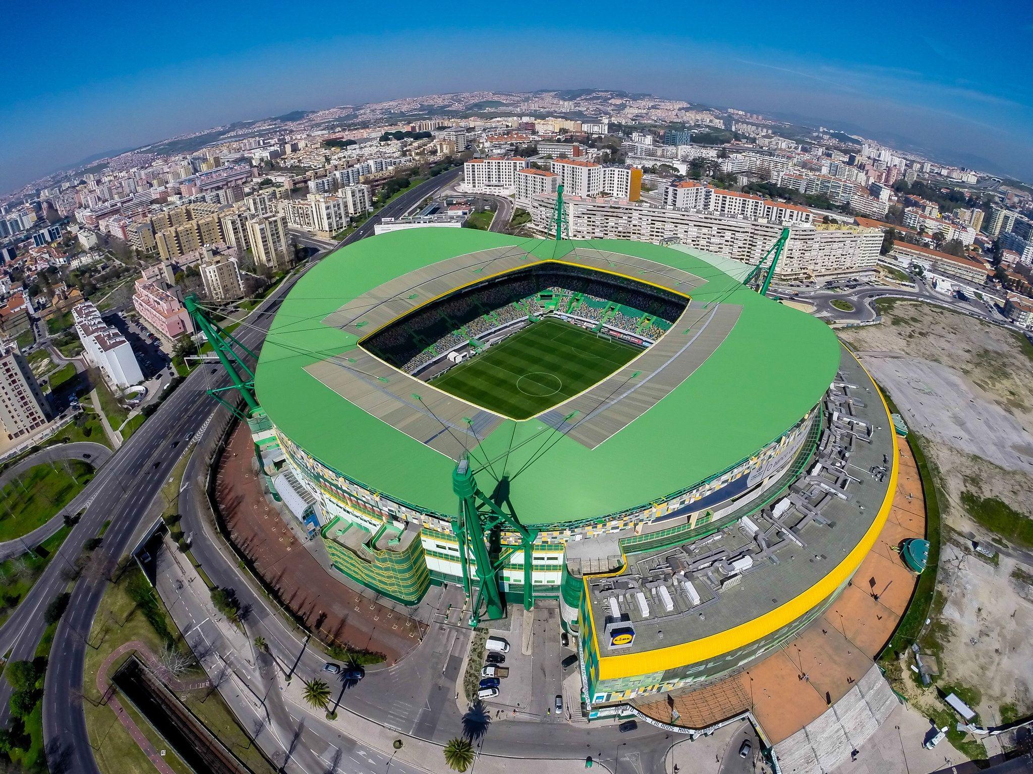 Výsledek obrázku pro Estádio José Alvalade