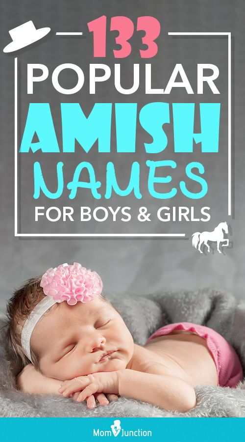 11+ Amish names for boy ideas in 2021