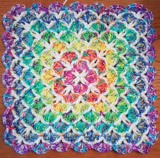 Crochet Shell Stitch Tutorial Lots Of Patterns   Punto de crochet ...
