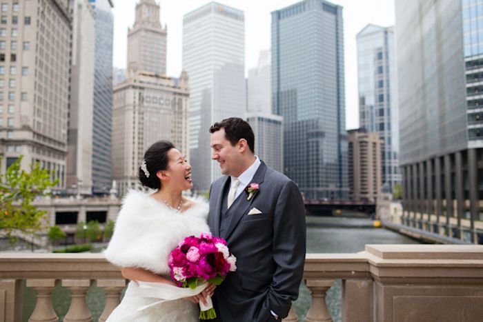Gorgeous Pink Cultural Wedding In Downtown Chicago