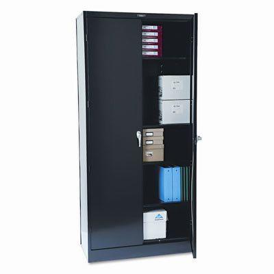 tennsco deluxe 2 door storage cabinet finish black products rh co pinterest com