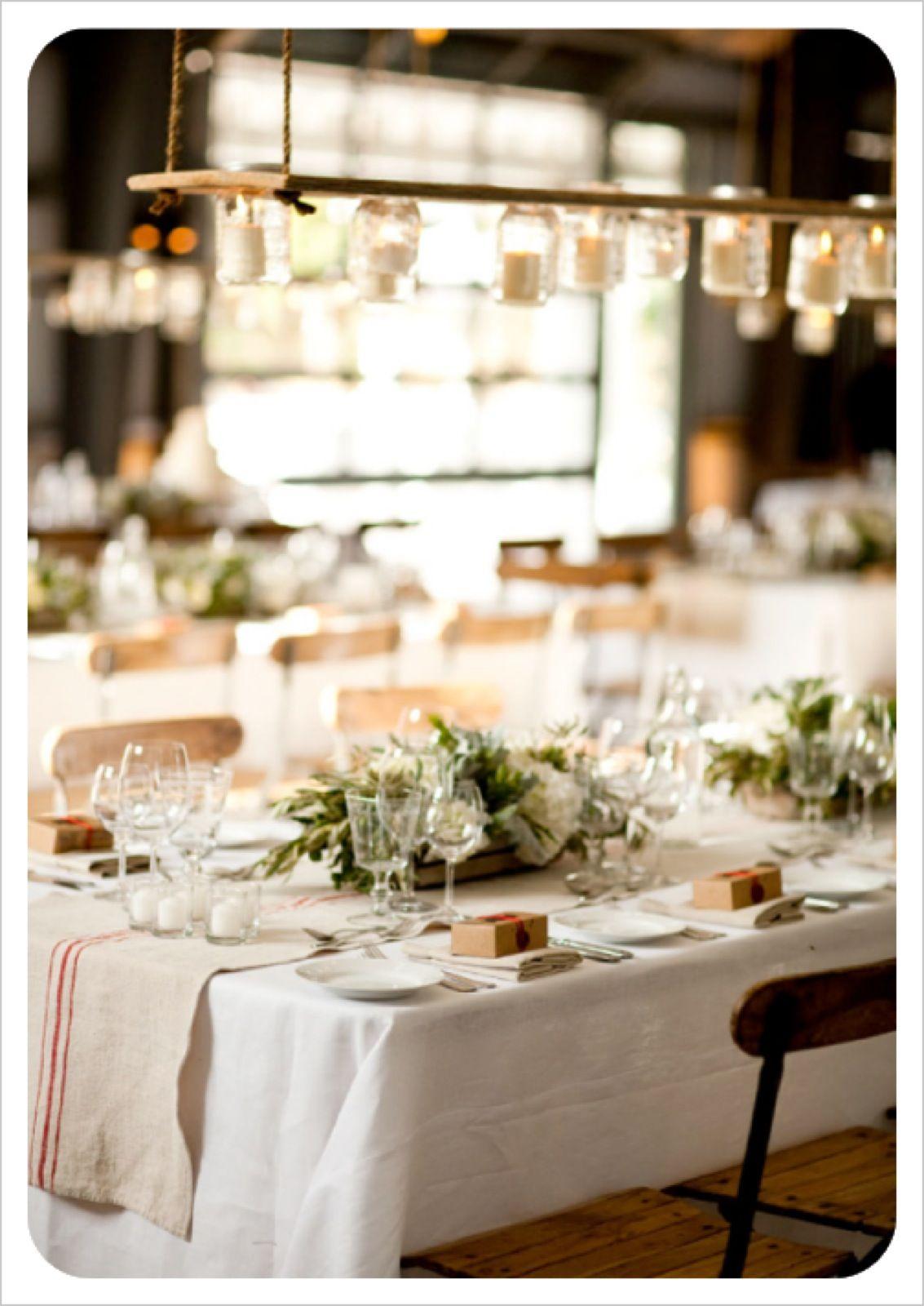 long table setup wedding reception%0A Natural wedding decor