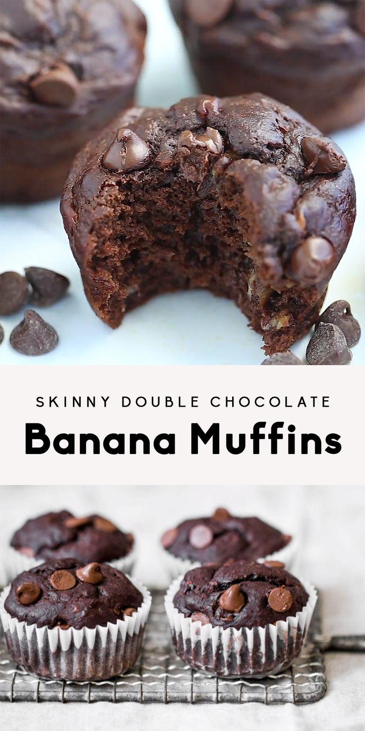 Muffins aux bananes et au chocolat double pour Reagan