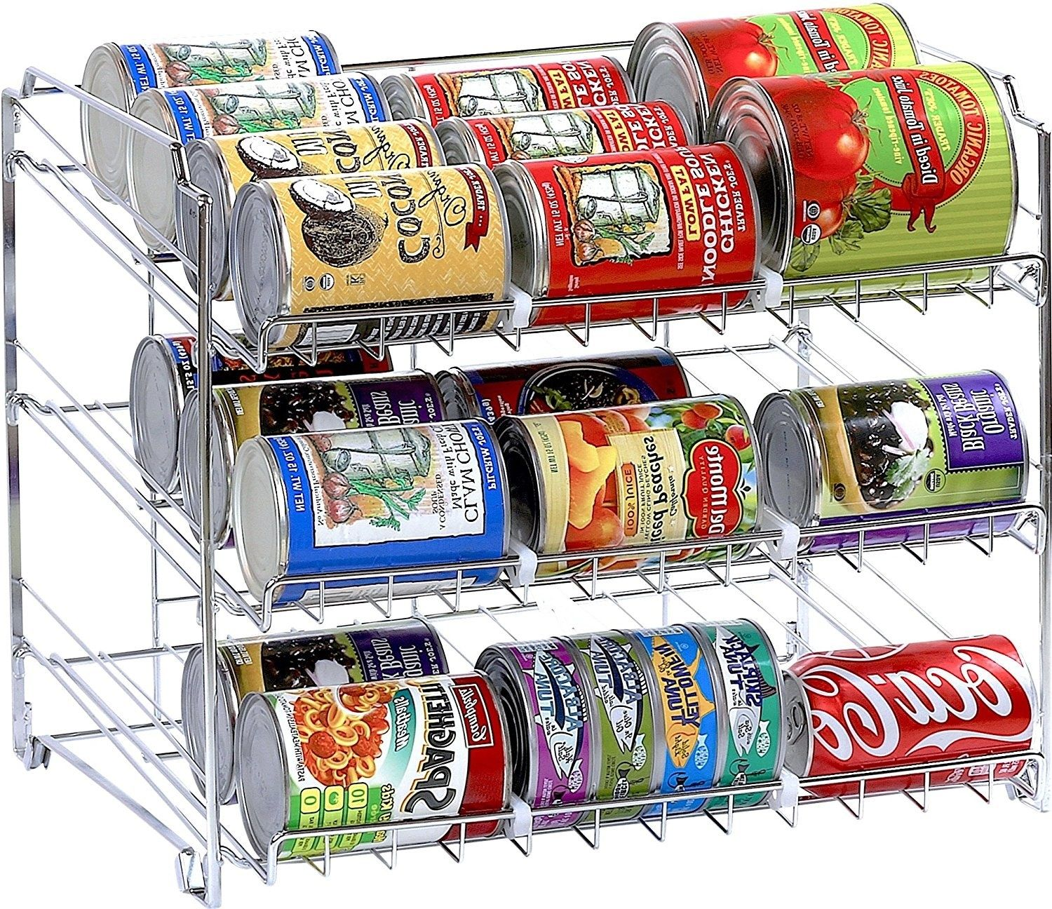 Kitchen Storage Ideas Buzzfeed: Create Extra Space In Your Pantry With A Rack That