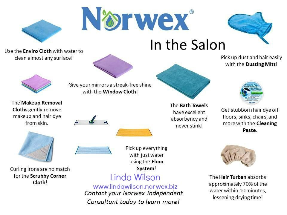Norwex Is For More Than Just Your Home Have A Salon Or In Home