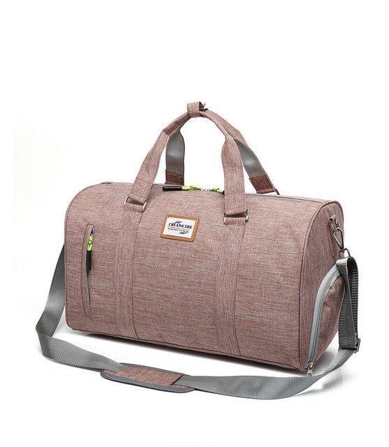 6e472ce8d7a6 Outdoor Sports Bags for Women Men Fitness Gym Bag with Shoes Storage Handbag  Shoulder Crossbody Bags Travel Duffle Bolsa XA571YL