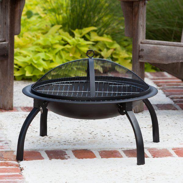 dorsett steel wood burning fire pit outdoor ideas wood burning rh pinterest com