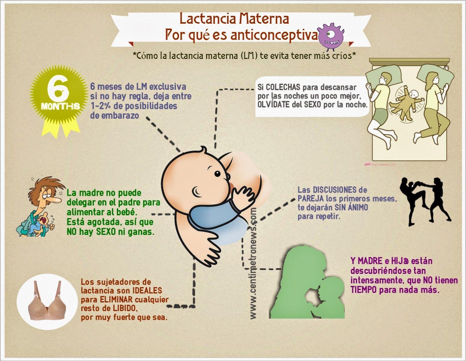 Lactancia materna y anticoncepci n breastfeeding lactancia materna pinterest lactancia - Alimentos para producir leche materna ...