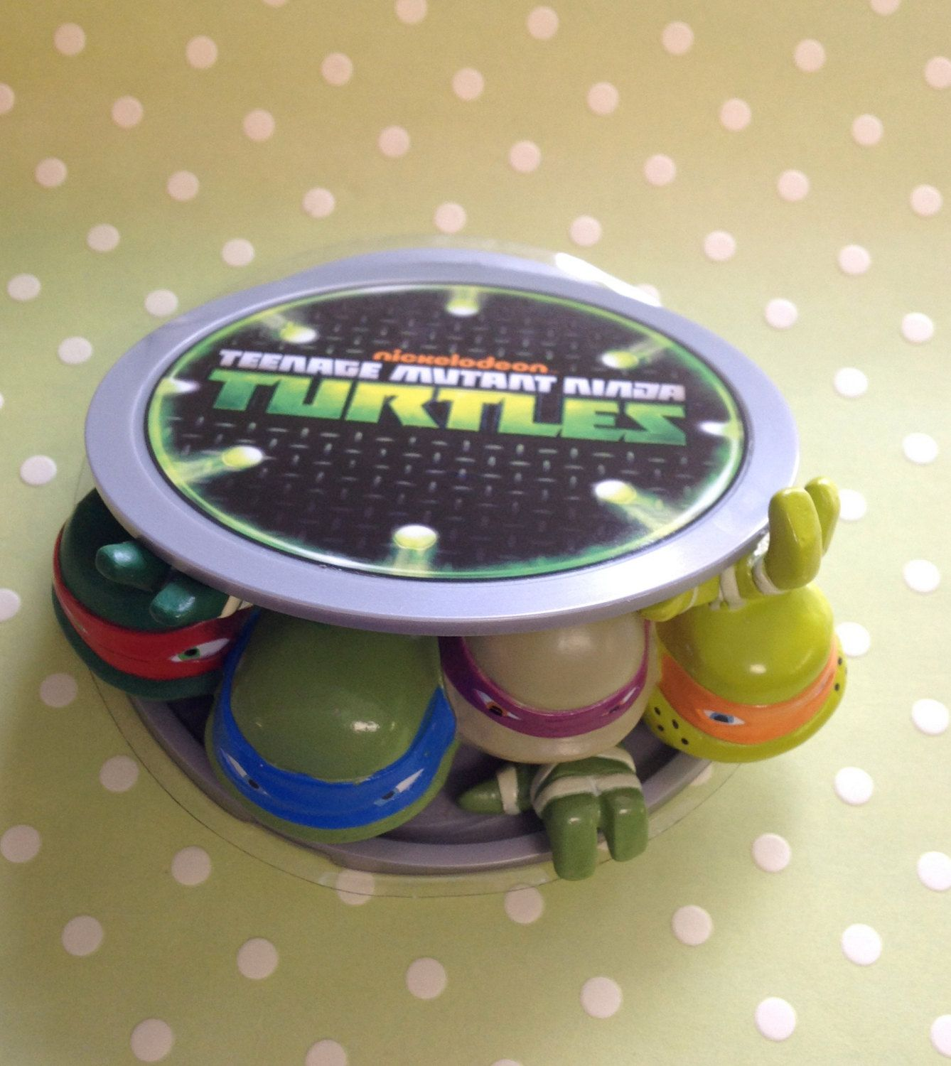 Teenage Mutant Ninja Turtle Cake Kit by ChristyMaries83 on Etsy