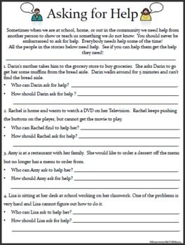 17 Social Skills Worksheets - Special Education. | Social ...