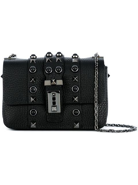 69815d0153 VALENTINO micro  B-Rockstud Rolling  crossbody bag.  valentino  bags   shoulder bags  leather  crossbody