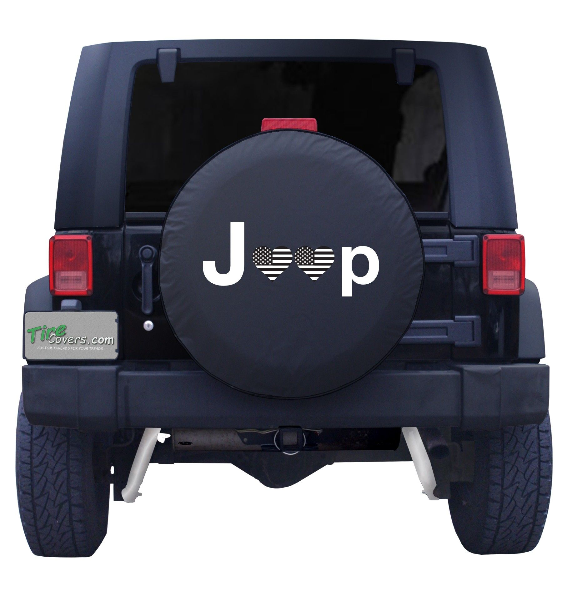 Jeep Heart Flag Tire Cover Jeep Wheel Covers Jeep Spare Tire