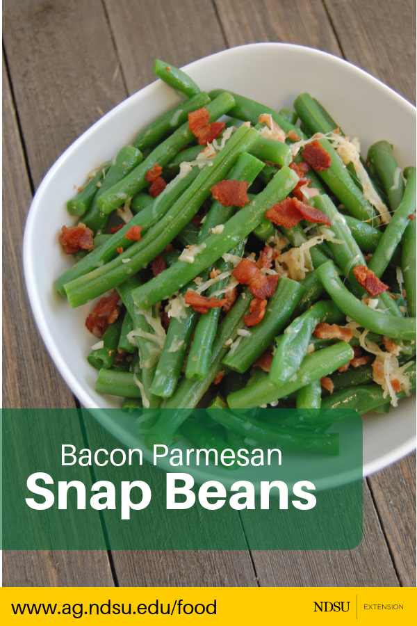 bacon parmesan snap beans are the perfect side dish for your next rh pinterest com