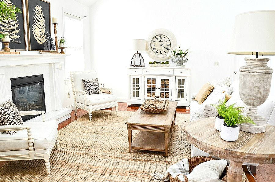 HOUSE TOUR AND SPRING DECORATING IDEAS