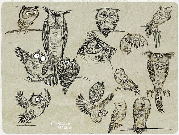 Image result for owl concept art