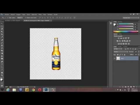 Poner sombra a un objeto en Photoshop CC - YouTube