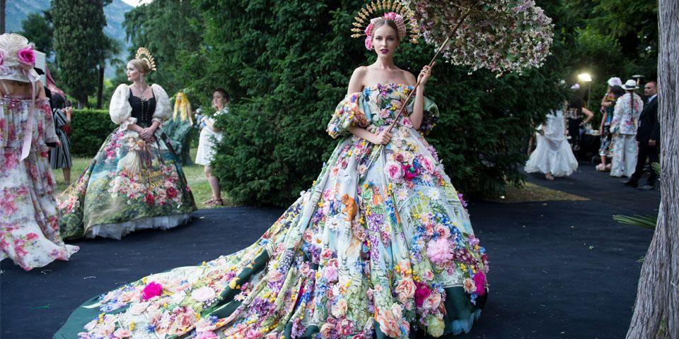 dglovescomo dolce gabbana porta lo show dell alta moda sulle rive rh pinterest com