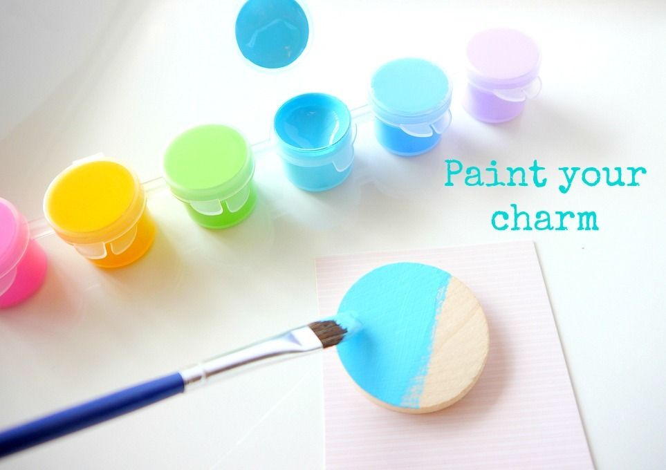 Necklace - Paint your charm