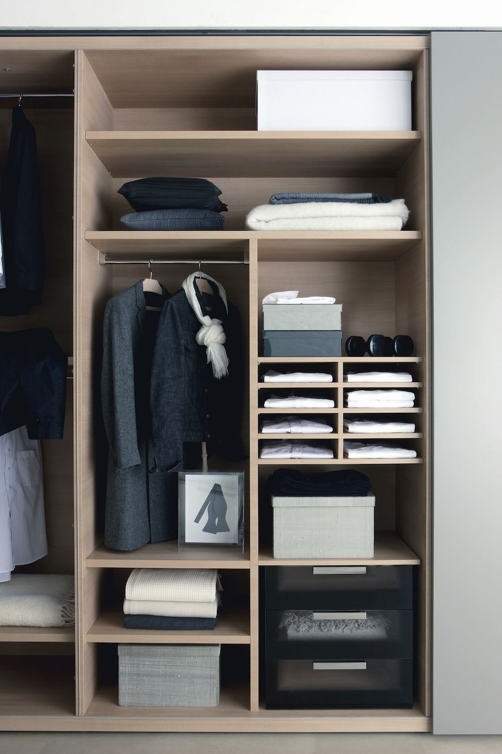 8 Quick And Easy Closet Upgrades Apartmentguide Com Closet Design Simple Closet Closet Designs