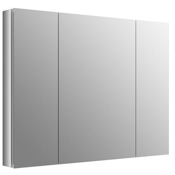 Verdera 40 Quot X 30 Quot Aluminum Medicine Cabinet Recessed