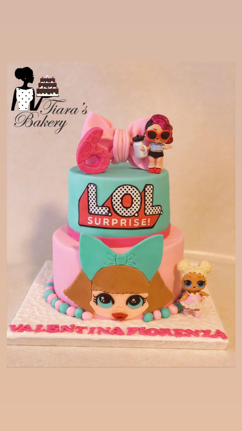 Lol Doll Cake L O L Cake Lol Cake Lol Torte Girly Cake Cake For Girls Cute Cake Funny Birthday Cakes Lol Doll Cake Birthday Cake Decorating