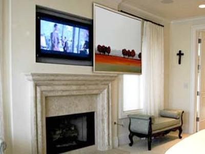 decorative wall panel designs screens and hanging doors to hide tvs rh pinterest com