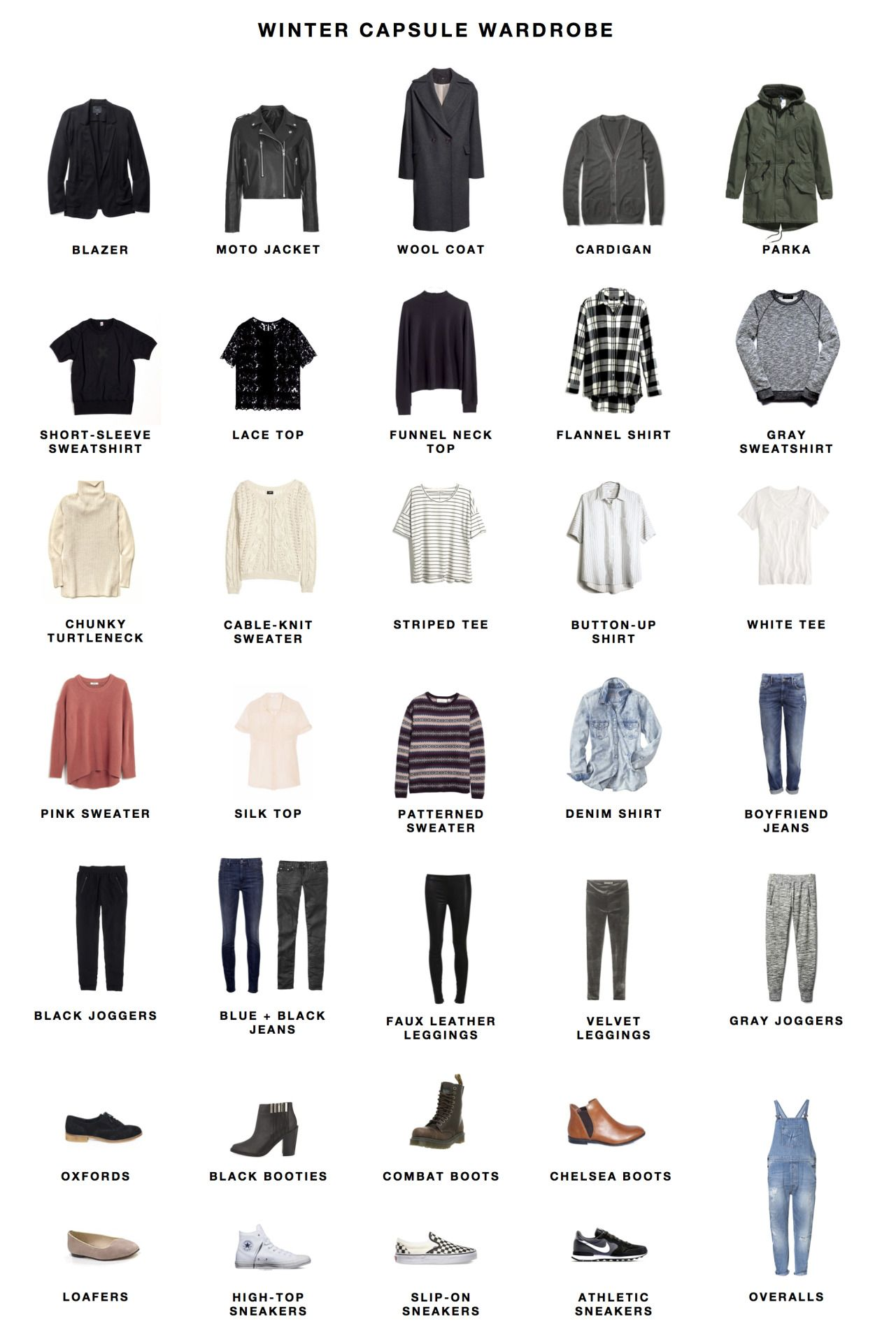 Winter 2015 Capsule Wardrobe Winter Is Here, And So Is My