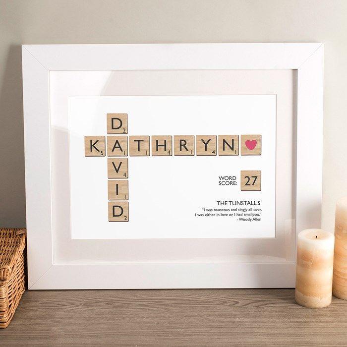 281ceb0882ec Personalised Print - Letter Tiles