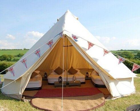 Bell Tent Decor Pinmichelle Myers On Camping Ideas  Pinterest  Yurt Tent