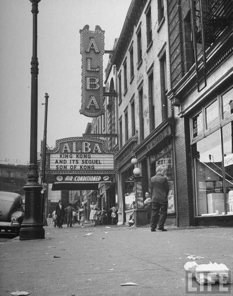 Alba Theater 1946 Brooklyn New York New York Theater Brooklyn