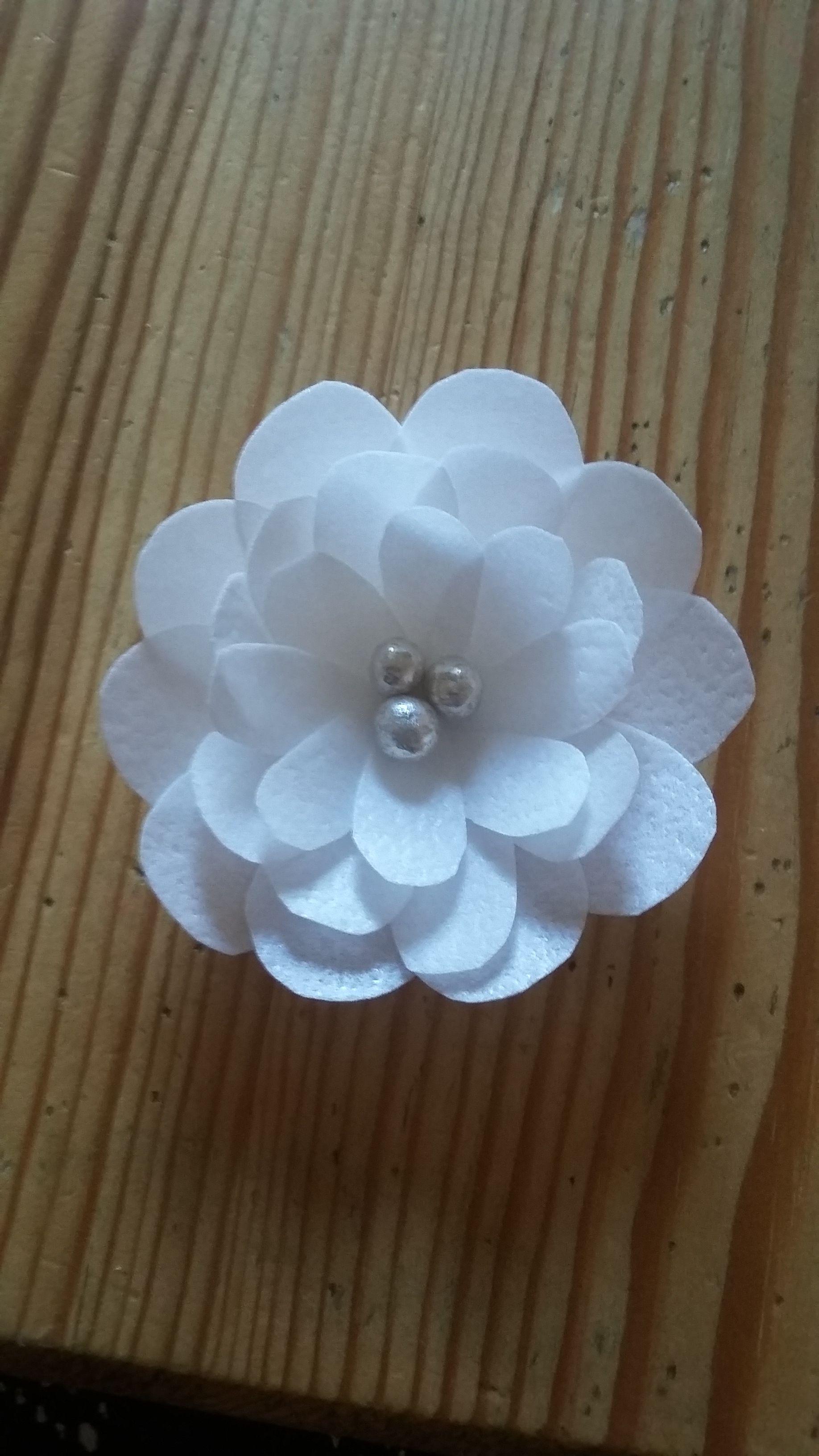 Waferpaper Blume