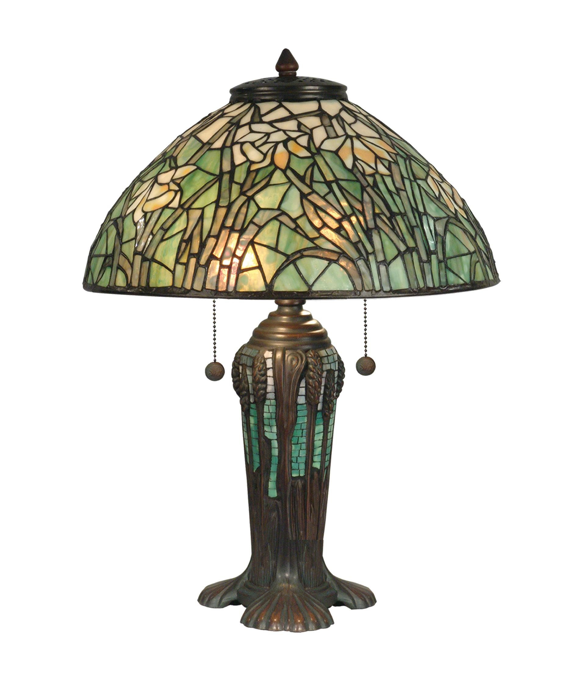 Shown in antique bronze verde green finish and hand rolled art glass accessories divine picture of home lighting decoration using dome light green flower stained glass dale tiffany lamp shades tiffany lamp shade replacement aloadofball Image collections