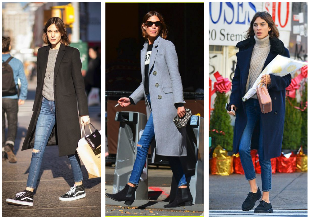 Long Coat Alexa Chung. Break The Mold And Be An Alternative It Girl With These Alexa Chung Outfit Inspirations