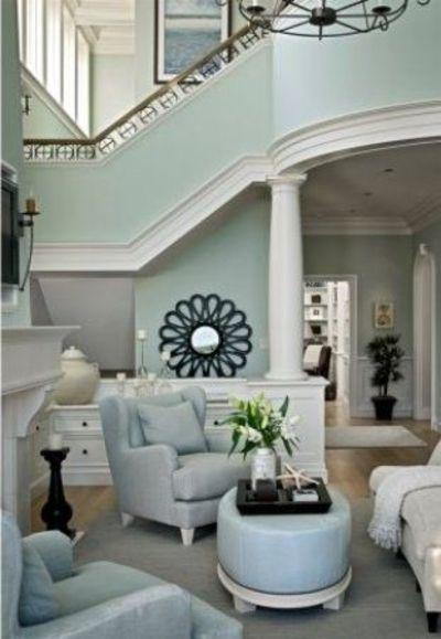 Sherman Williamas Sea Salt HOME Pinterest Wohnzimmer im - welche farbe für wohnzimmer