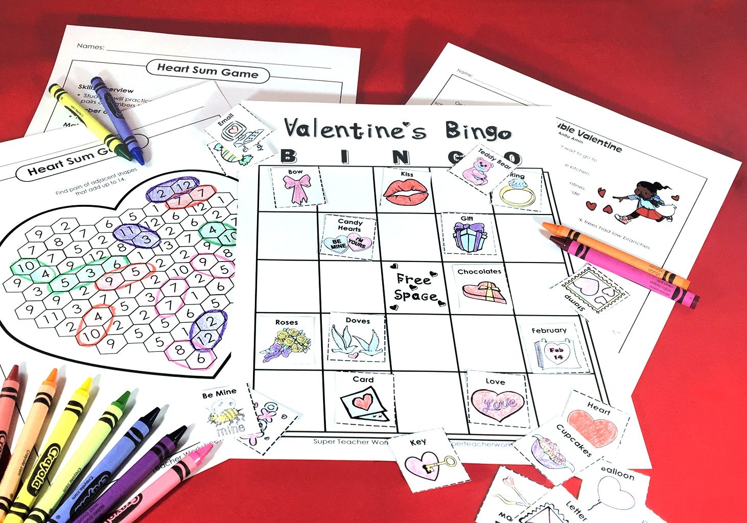 Print Out Educationalactivities To Celebrate Valentinesday With Your Students Go To The