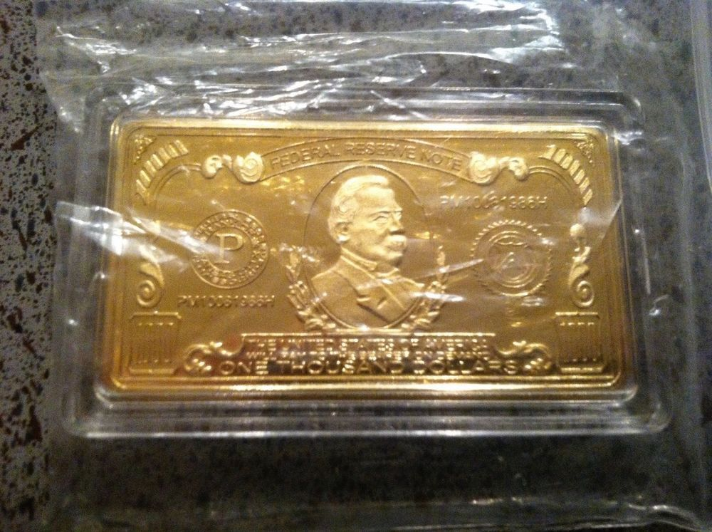 999 1 Million Us Dollar Gold Bar Gold Bullion Us Dollars Gold Bar