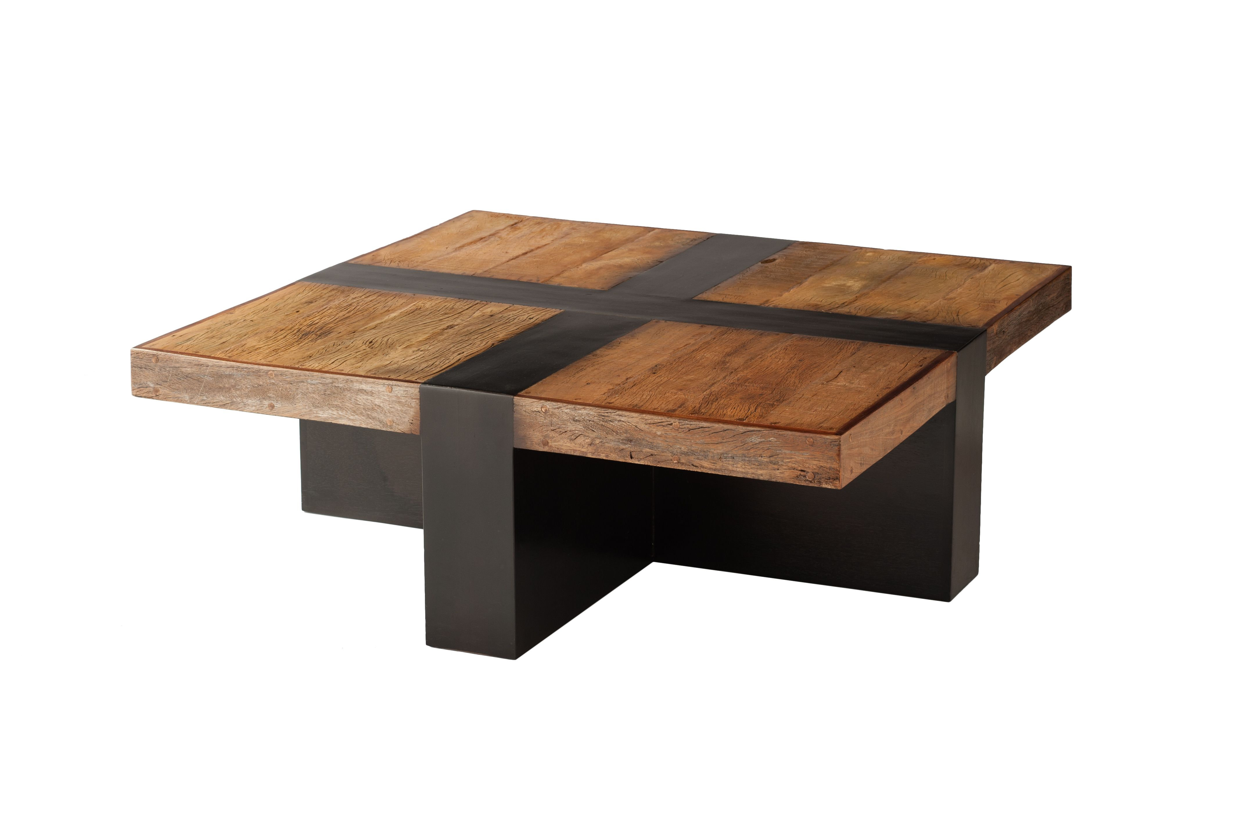 santos coffee table made from reclaimed brazilian peroba rosa wood rh pinterest com