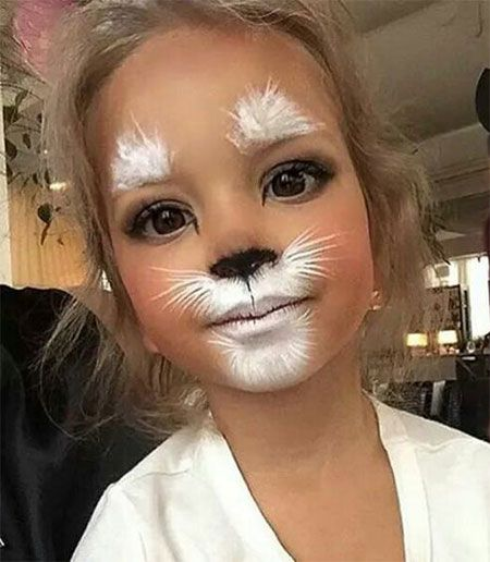 15-cool-halloween-makeup-ideas-for-kids-2016-7 | maquillage enfant ...