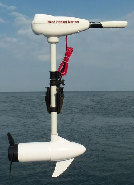 Island Hopper 55-lb Thrust Kayak Motor with Sealed Shaft for