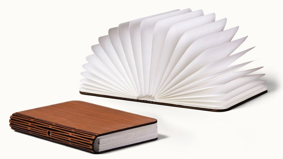 Light Book Delectable Lumio Book Light Opened And Closed With Laser Cut Spine Visible Review