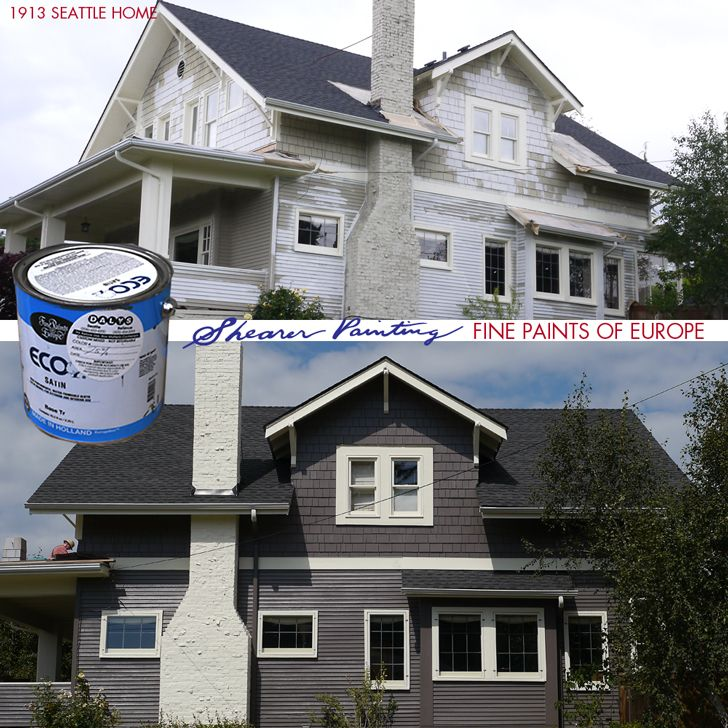 A Seattle home painted by Shearer Painting