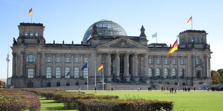 Reichstag, Berlin, central Germany
