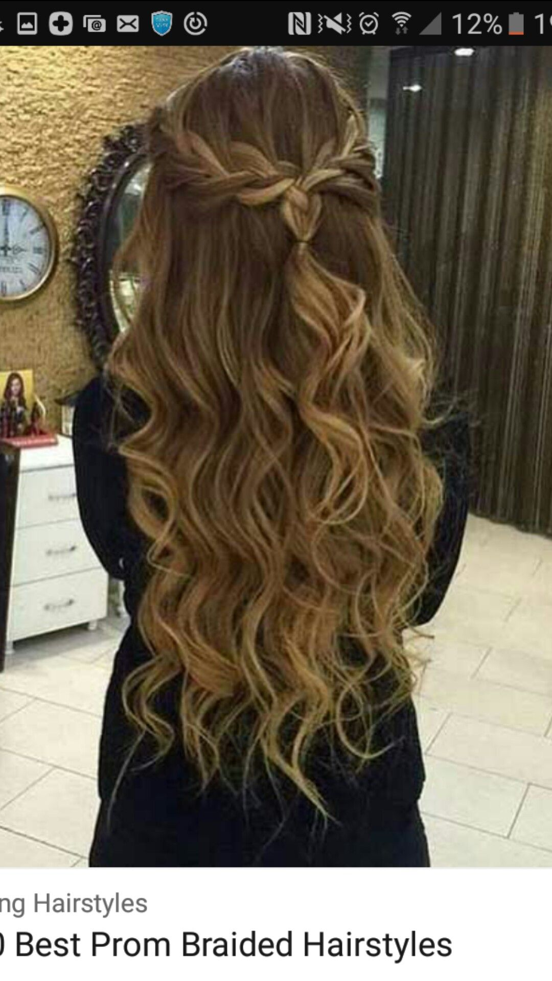 Pin by alexis hernandez on hair pinterest prom hair hair and