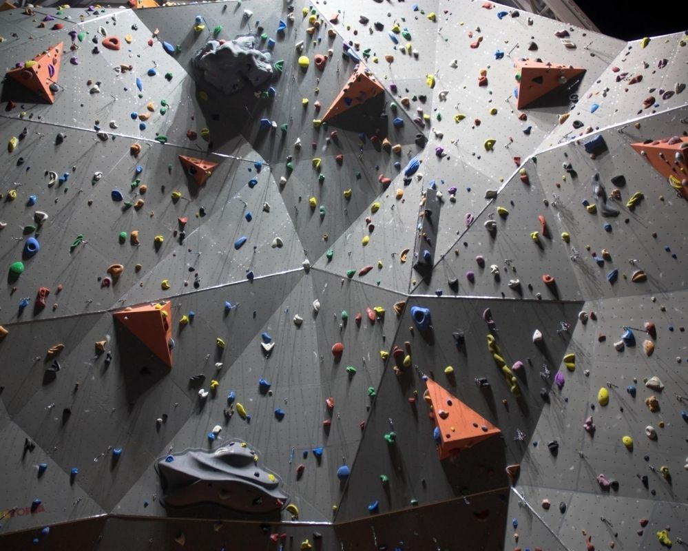 indoor fixed climbing wall for kids FLAT