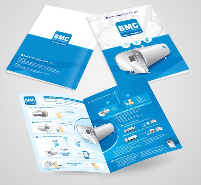 Dairy-Brochure-Design | Led | Pinterest | Brochures, Product