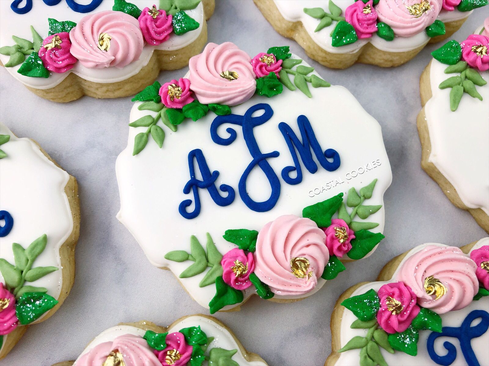 Wedding Monogram Cookies | Monogram cookies, Perfect wedding favor, Wedding  favors