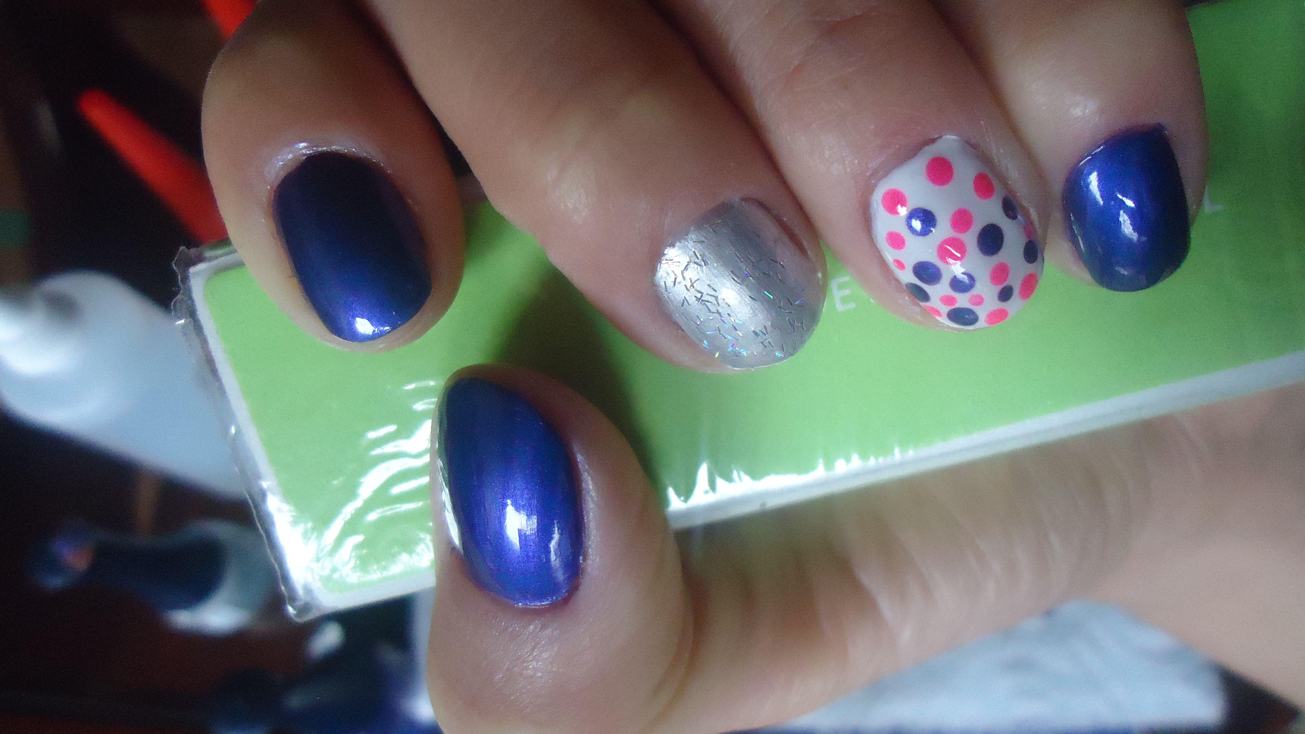 Excepcional Uñas De Acrílico De Color Púrpura Tumblr Foto - Ideas de ...